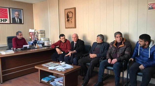 AK Parti Aday Adayı Kayatürk CHP'yi Ziyaret Etti!.