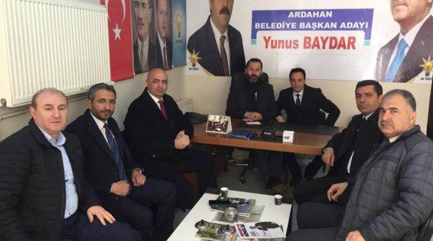 Ankara ARDAFED'den Ardahan'a Ziyaret..