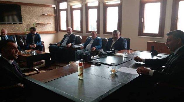 ARDAFED Batıda ki Ardahanlı Belediye Başkanlarını Ziyarete Başladı..