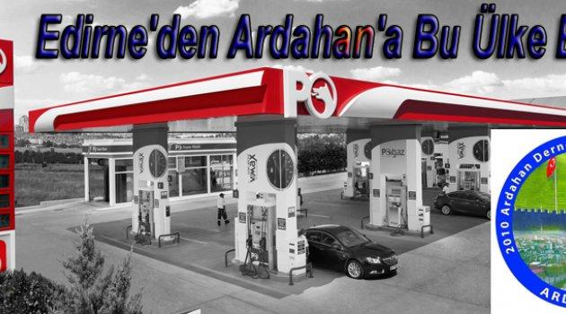ARDAFED'den Petrol Ofisine Teşekkür..