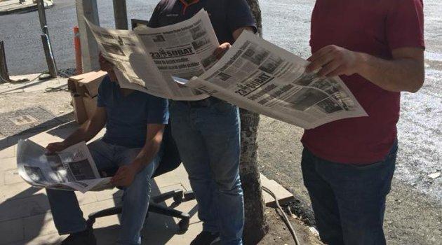 Ardahan'da Gazetemiz Okunuyor..