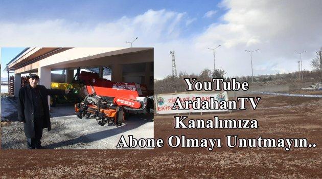 ARDAHAN ZİRAAT ODASINDAN ÇİFTÇİYE ALET DESTEĞİ!..
