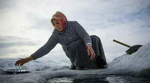 Ardahan'da Buz Devri Başladı..