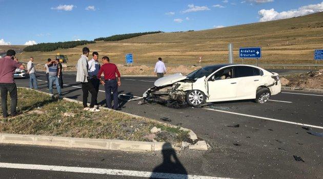 Ardahan'da Yine Kaza, Yaralılar Var!