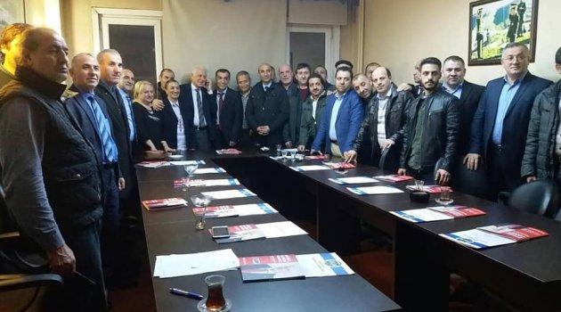 Ardahanlı Şişli Belediye Başkan Adayı ARDAFED'deydi..
