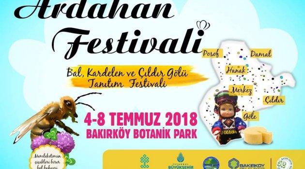 Ardahanlılar İstanbul'da Bal Festivalinde Buluşacaklar..