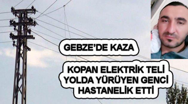 Ardahanlıya Elektrik Çarptı!