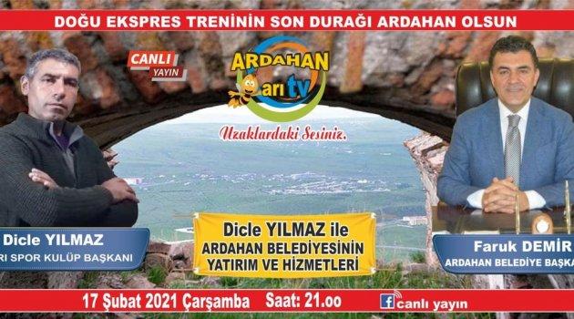 BAŞKAN ARI TV'YE KONUK OLACAK..