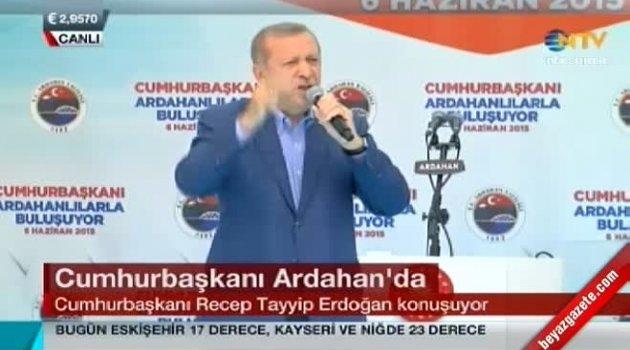Başkan Erdoğan Baydar İçin Ardahan'da