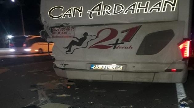 CAN ARDAHAN TIRLA ÇARPIŞTI!..