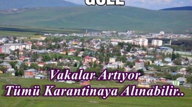 CORONA ARDAHAN'DA 9 KÖY KARANTİNAYA ALDIRDI!..
