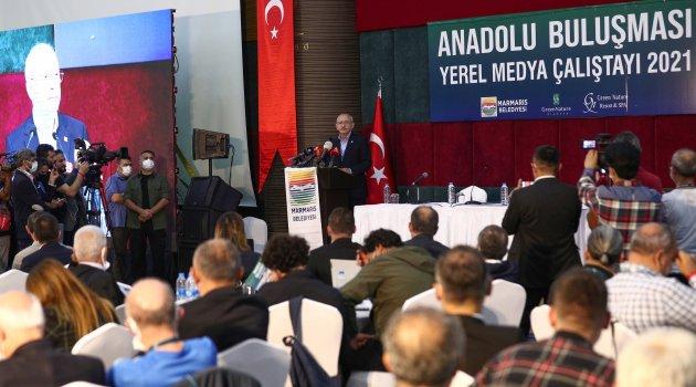 GAZETECİLER İSTANBUL'DAN SONRA MARMARİS'DE BULUŞTULAR..