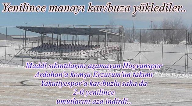 HOÇVANSPOR 2 GOL YEDİ, 2 SIRA GERİLEDİ!