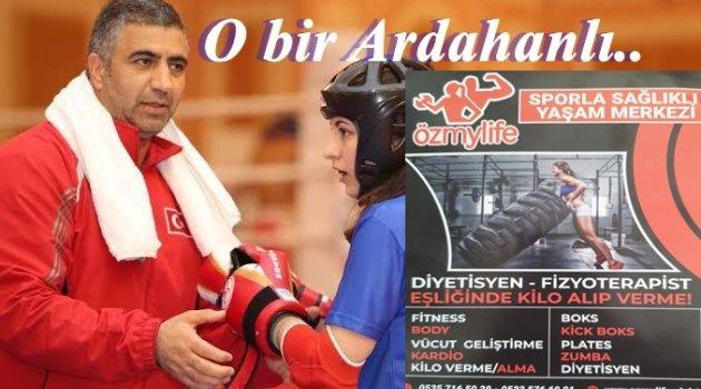 BİR ARDAHANLININ BAŞARISI- Sağlığın Merkezi ÖZmyLife Sports Kulüp