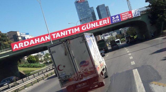 İSTANBUL'DA ARDAHAN HAFTASI...