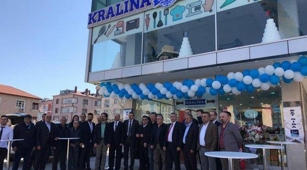 Kralına Pasta ve Pastahane Ürünleri AVM'si Açıldı..