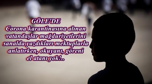 2 KÖYÜ DAHA KARANTİNAYA ALINAN GÖLE'DE SUÇLU BAŞKAN MI?!.  .. Posof'u A Milli Futbol Takımında Ardahanlı Erzurum Spor'da