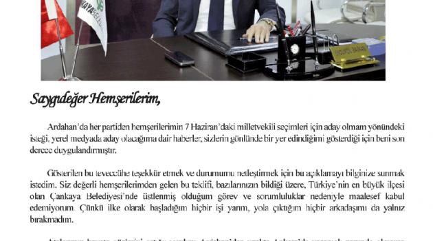 ÇILDIR'A SONDAJ VURULDU!..