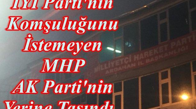 MHP AK PARTİNİN YERİNE GEÇTİ, İYİ PARTİ İL BAŞKANI MHP'Lİ OLDU!..
