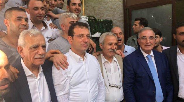Öğüt İmamoğlu'yla Birlikte Diyarbakır'daydı..