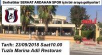 23 Eylül'de Serhat Ardahan Spor İçin İstanbul'da Bir Araya Gelecekler..