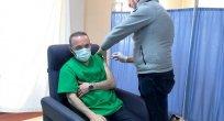 Bir Köyün Karantinaya Alındığı Ardahan'da Vali Aşı Oldu!