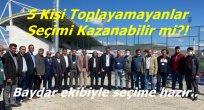 Baydar'lı AK Parti Kadrosu Yenilendi..