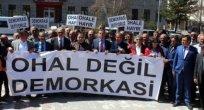 Ardahan'da OHAL'a Karşı Oturma Eylemi!