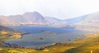 2 Ülkenin Sınır Aktaş Gölü..