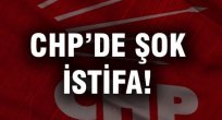 CHP Meclisinde İstifa!