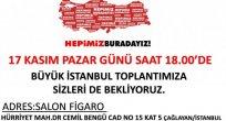Ardahan Milletvekili Öztürk Yılmaz Hemşehrilerini   İstanbul'da ki Toplantısına Davet Ediyor..