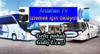 Ardahan'da Otobüsler Arası Ölümcül Rekabet!