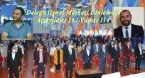 AK Partili Delegenin Yarısı Merkezi Dinlemedi!