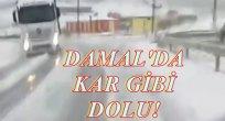 DOLU DAMAL'I KIŞ ETTİ!