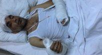 Gazeteci Ağır Yaralandı!