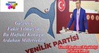GAZETECİ'NİN KONUĞU GENEL BAŞKAN OLACAK!