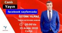 YENİLİK PARTİSİ GENEL BAŞKANI ARI TV'YE KONUK OLACAK..