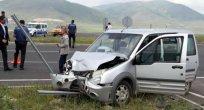 Ardahan'da Trafik Kazası, 8 Yaralı!