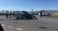 Ardahan'da Trafik Kazası..