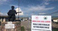 BAŞKAN KENDİ KÖYÜNÜN KALDIRIMLARINI YAPTI!..