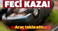 Damal'da Trafik Kazası! 1 Kişi Öldü..