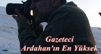 Gazeteci Su Kaynağı, Ardahan'ın En Yüksek Dağında, Hoçvan'daydı!