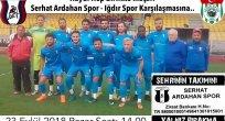 Iğdır Spor Maçı Öncesi İşadamlarından Serhat'a Maddi Moral!
