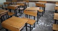 Öğrencilerin üzerine tavan çöktü..