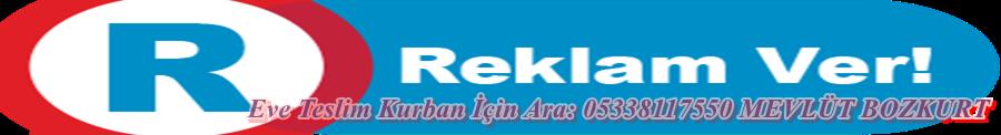 EVE TESLİM KURBANLIK İÇİN ARA 05338117550 MEVLÜT BOZKURT