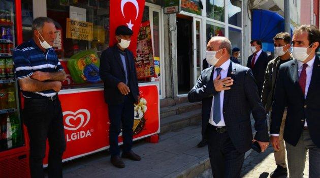 VALİ ÖNER ARDAHAN'IN TANIMAYA DEVAM EDİYOR..