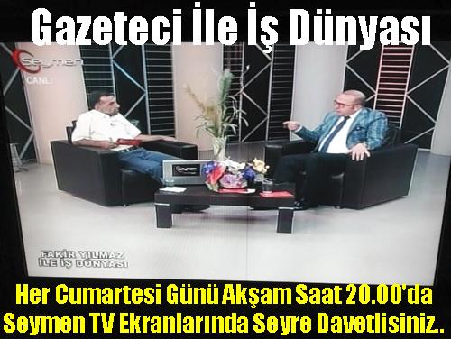 Gazeteci Seymen TV'de