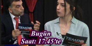 Gazeteci Tempo  TV'de
